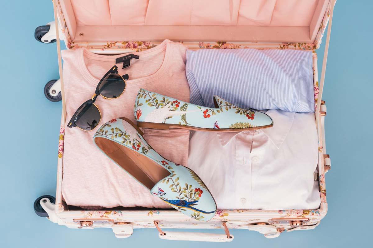 maleta y accesorios